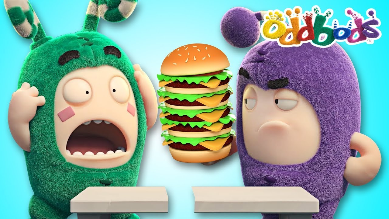 Oddbods | Food Fiasco #5 | Funny Cartoons For Kids