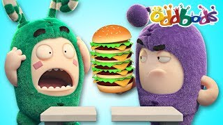 Oddbods | Food Fiasco #5 | Funny Cartoons For Kids