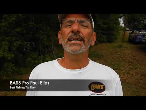 Best Fishing Tips Ever: Bass Pro Paul Elias