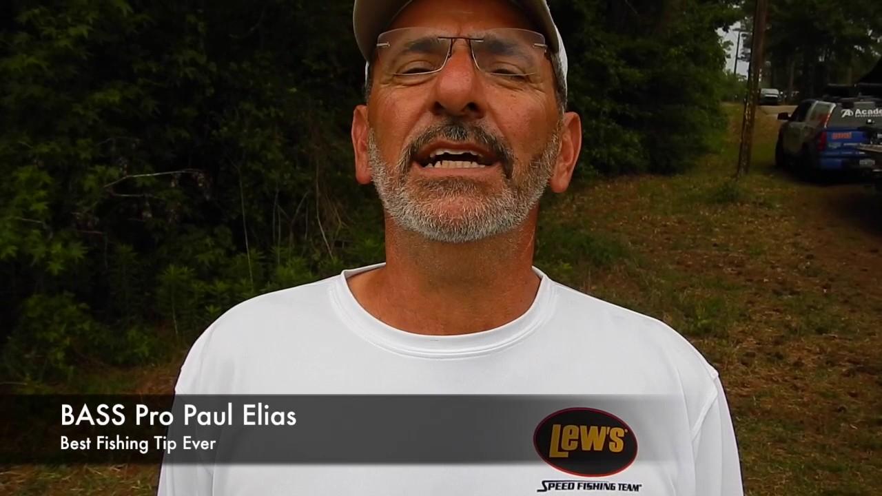 Best fishing tips ever bass pro paul elias youtube for Elias v fishing