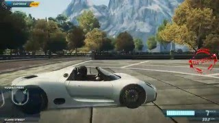 Need for Speed Most Wanted 2012  porsche 918 Jumping high ON suspintion