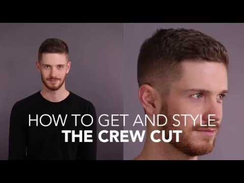 How to Cut and Style: The Crew Cut
