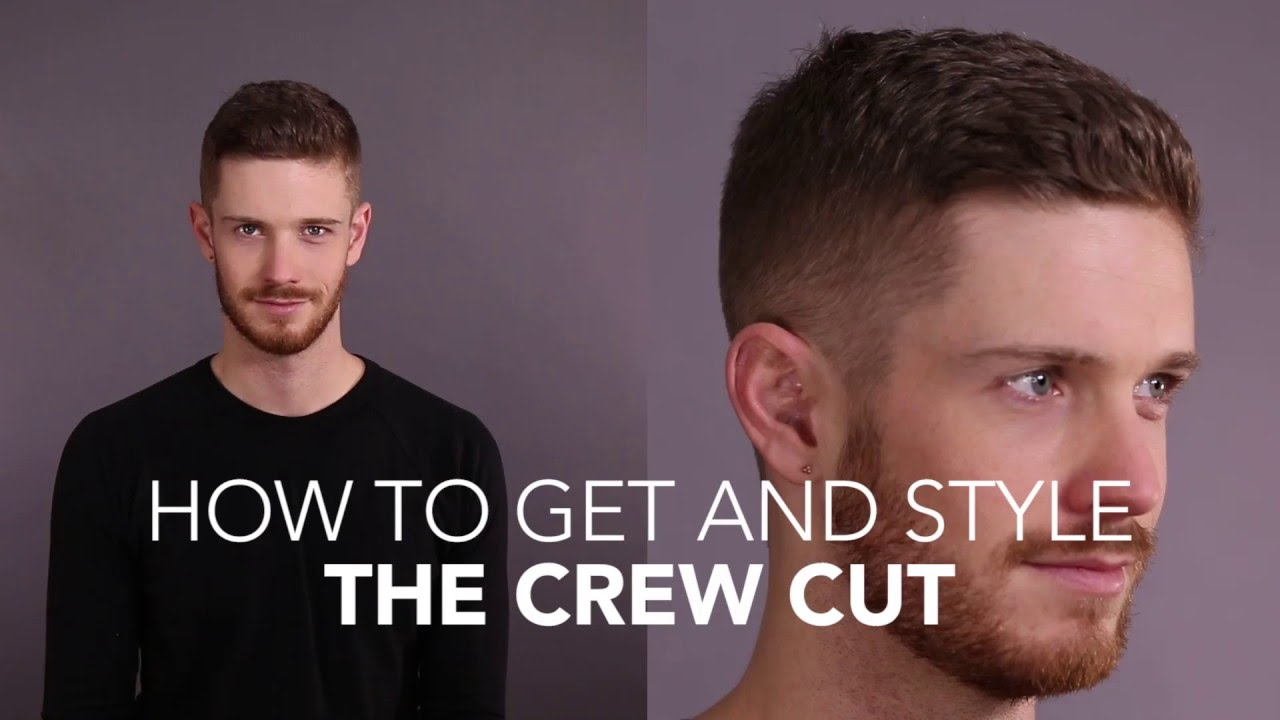 How To Cut And Style The Crew Cut Youtube