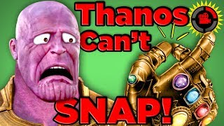 Film Theory: Thanos Was WRONG... He CAN'T Snap! (Avengers Infinity War) thumbnail