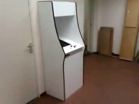 Cardboard Pac-man style Arcade Cabinet - YouTube