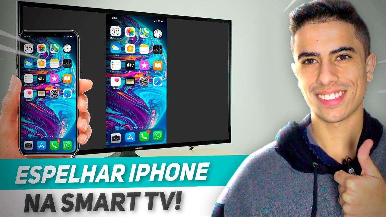 Como espelhar a tela do iPhone na Smart TV