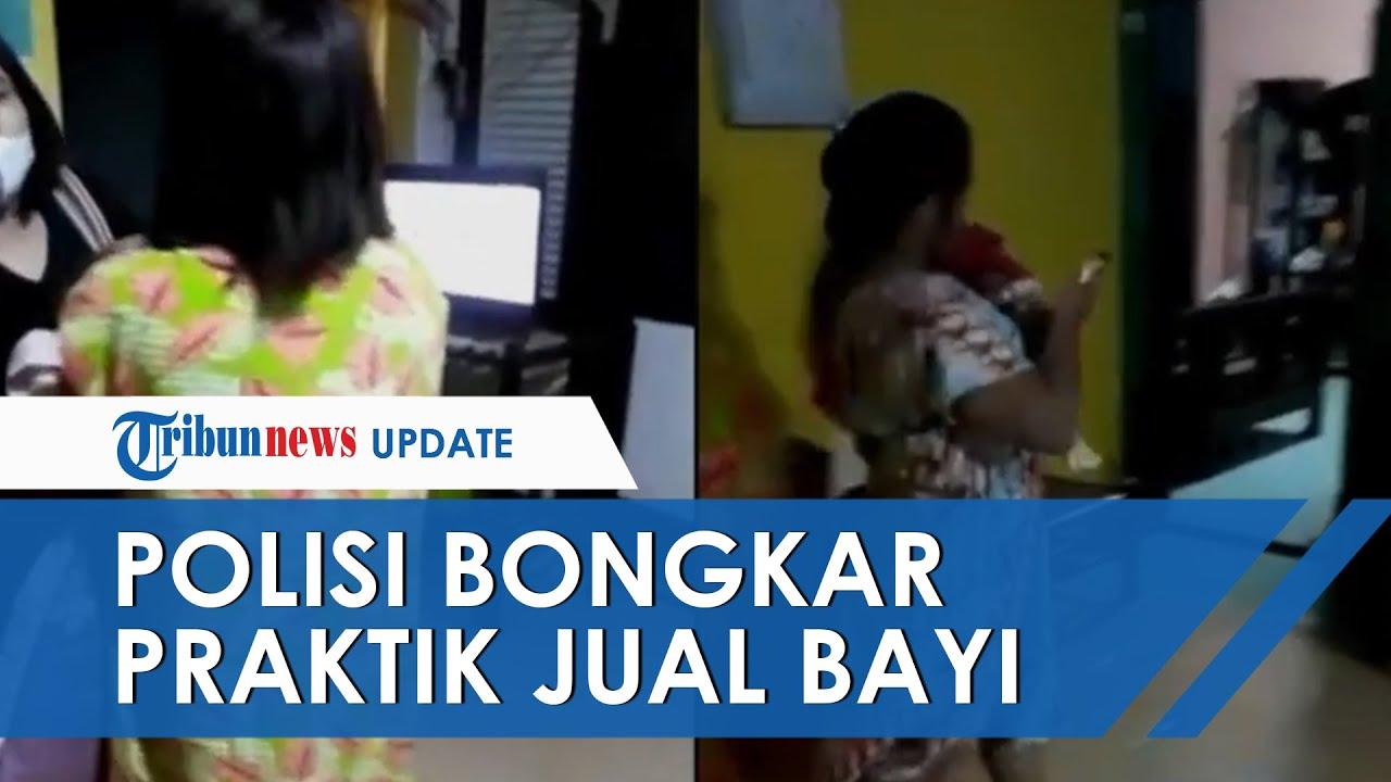 Video Detik-detik Polisi Bongkar Praktik Perdagangan Bayi, Ada Dua Bayi Berumur Kurang dari Sebulan