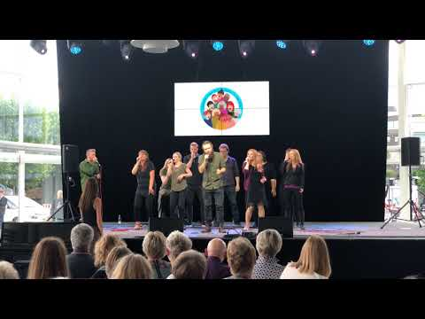 Voicebox - Human - Stemmer Bygger Bro - Aarhus Festuge 2018