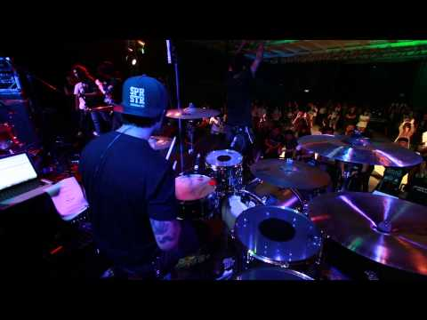 Hopeless : Open Act While She Sleeps Live in Bangkok Drum cam
