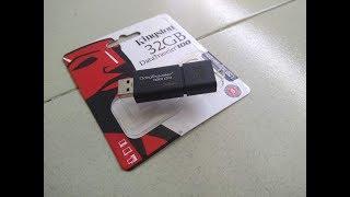 Test Tốc độ Đọc Ghi USB Kingston DT100G3 32GB USB 3 0 Hãng Phân Phối Chính T