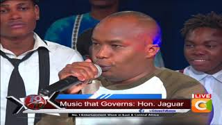Siwezi wacha muziki, I will be a singing MP - Jaguar #10Over10