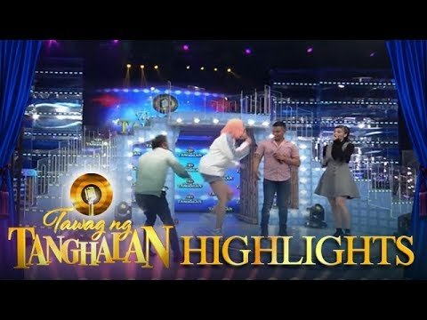 Tawag ng Tanghalan: Anne is surprised when Jhong pushed Vice