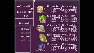 SNES Quest - G19E21 - Final Fantasy 2 (4) - The Curse of the Funny Voice