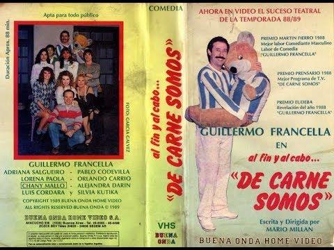 De Carne Somos con Guillermo Francella (Obra de Teatro Completa-1989)