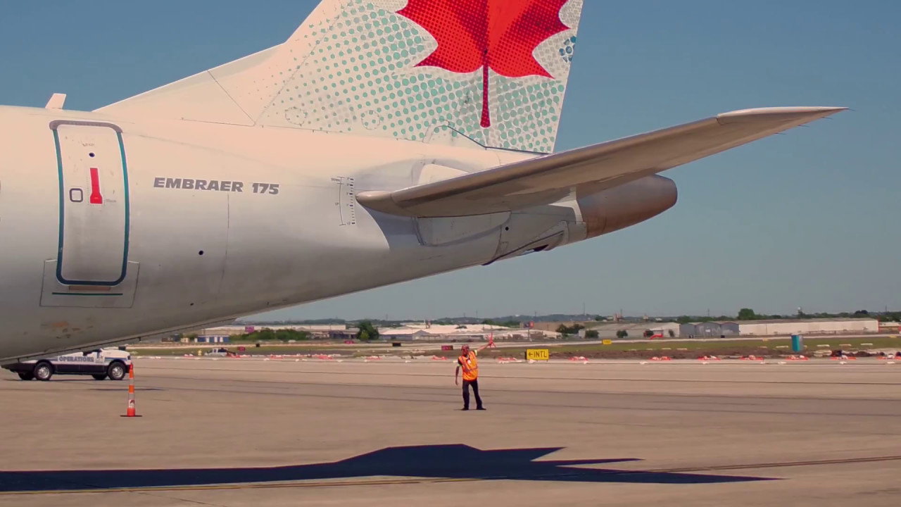 News Conference - San Antonio International Airport Announces New Air Canada Service to Toronto