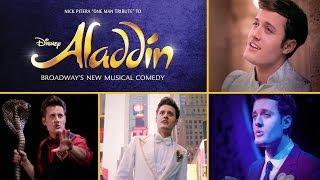 Repeat youtube video Nick Pitera - One Man Tribute to Disney's Aladdin on Broadway