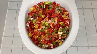 Will it Flush? - Gummy Bears