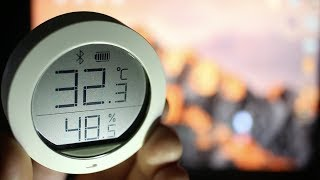 ОБЗОР Xiaomi MiJia Temperature Humidity Sensor ► метеостанция Сяоми