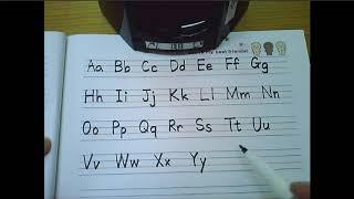 알파벳과 4단원단어 정리 쓰기