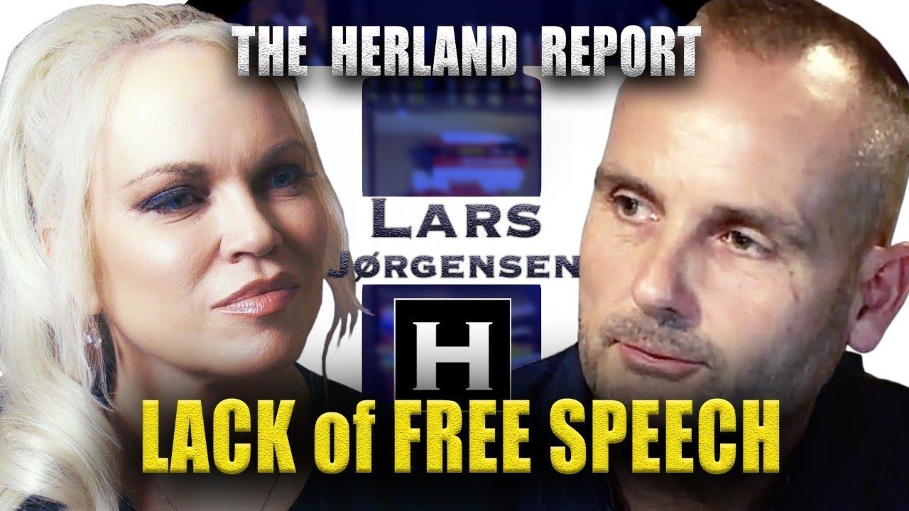 The West turns away from Free Speech - Lars Jørgensen, Herland Report TV (HTV)