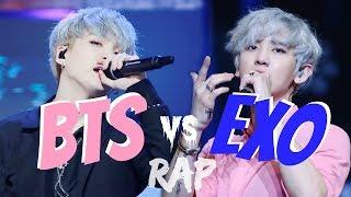 Video BTS VS EXO Part 3 : RAP download MP3, 3GP, MP4, WEBM, AVI, FLV Juli 2018