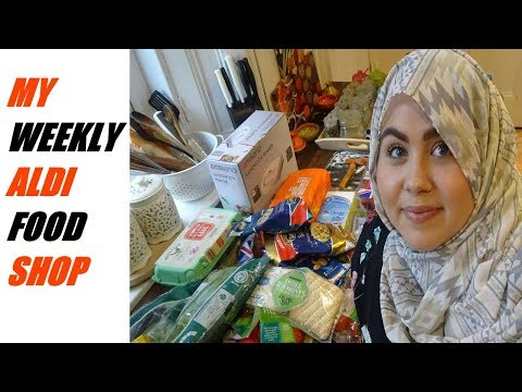 MY WEEKLY ALDI FOOD SHOP | MARWA CHEBBI