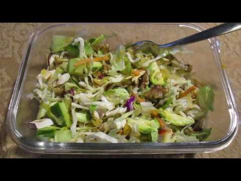 How to make the Best  Organic Healthy Salad