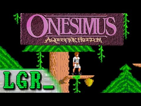 LGR - Onesimus - DOS PC Game Review