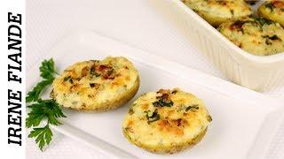 Праздничная и супер быстрая запечённая картошка в духовке с сыром