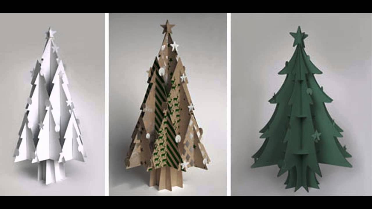 Cardboard Christmas Tree.Cardboard Christmas Tree Decorations