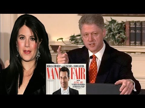 Monica Lewinsky Writes About Clinton Affair in Vanity Fair