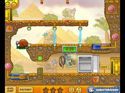 Snail Bob 3 Level 16 Snail Bob 3 Walkthrough Level 16