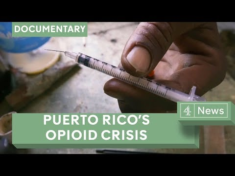 Puerto Rico's opioid epidemic: addicts struggle in wake of Hurricane Maria