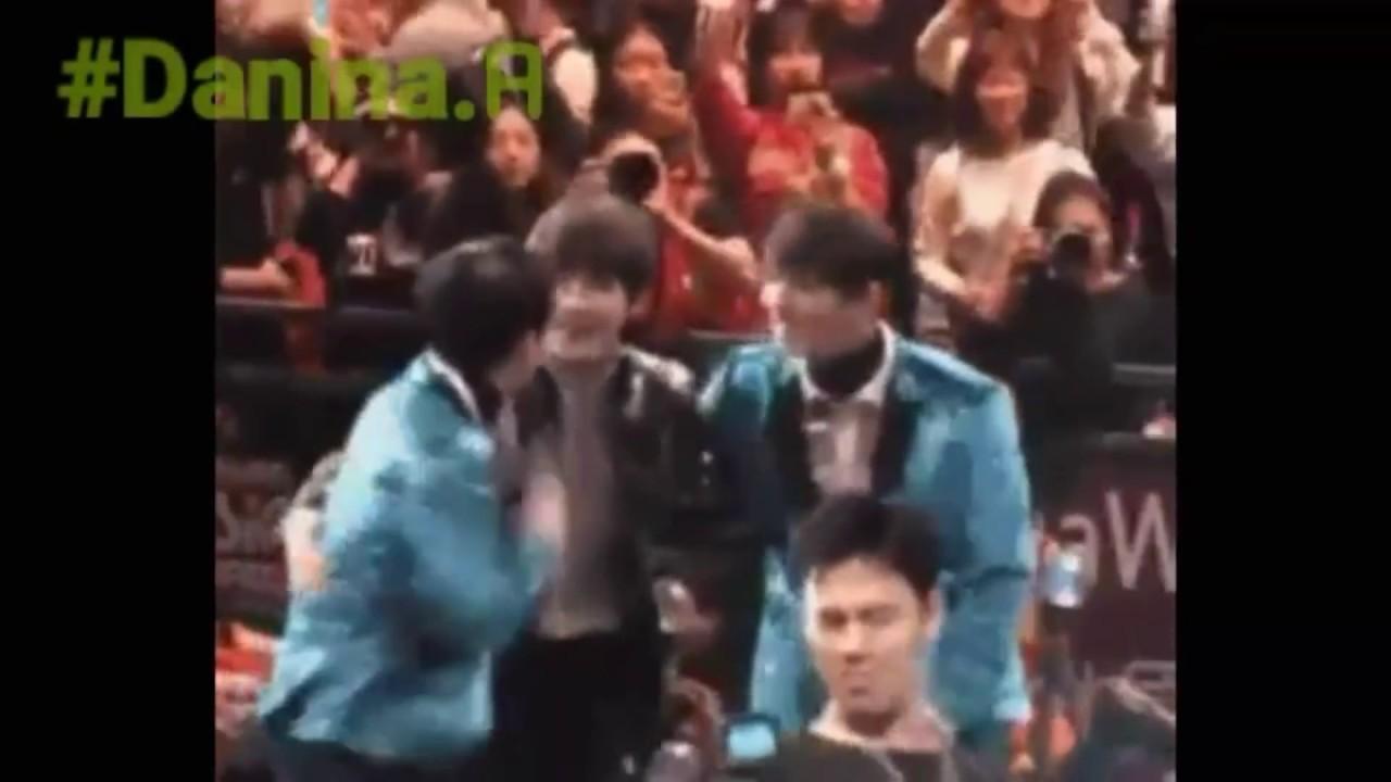 V Bts And Joshua Seventeen Moments Taeshua Youtube
