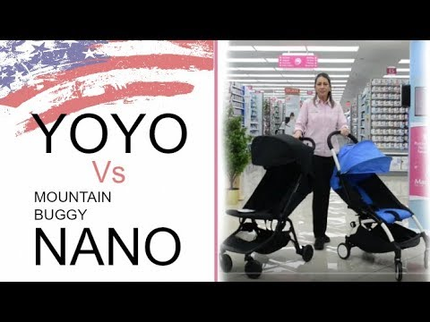 Compact Stroller Comparison Yoyo Vs Mountain Buggy Nano Prices