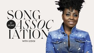 "Ledisi Sings Tina Turner, Chaka Khan, and ""Anything for You"" in a Game of Song Association 