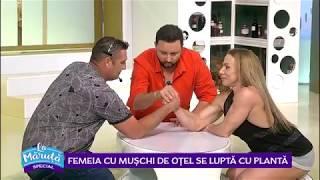 Oana Marinescu, stomatologul cu muschi de otel