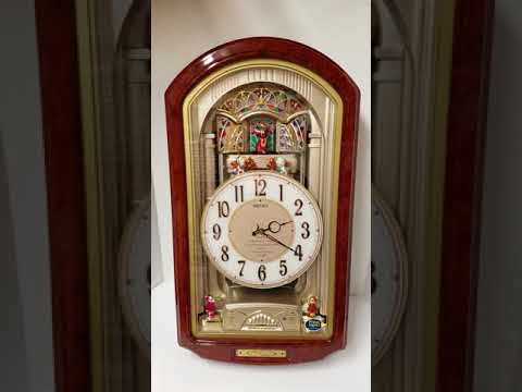 Seiko Melodies In Motion Retired QXM123BRH Animated Musical Wall Clock