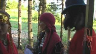 Тематическая цыганская свадьба, видео свадьбы в стиле
