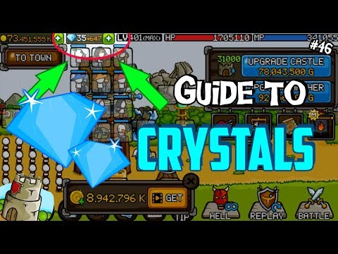 ► Grow Castle | #46 | How To Save Up CRYSTALS