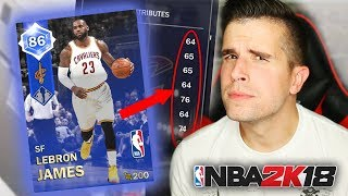 WE PULLED THE BEST CARD!! (BUT THERE'S A BIG PROBLEM!!) | NBA 2K18 MyTeam
