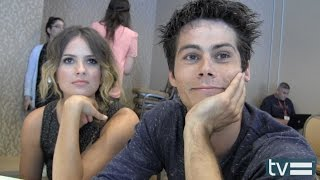 Teen Wolf Season 4: Dylan O'Brien & Shelley Hennig Interview