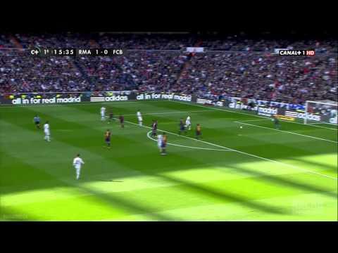 Real Madrid.vs.Barcelona.1 tiempo Liga BBVA 02/03/2013