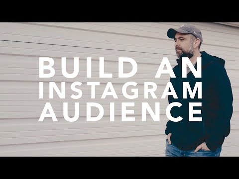 Build an Instagram Audience