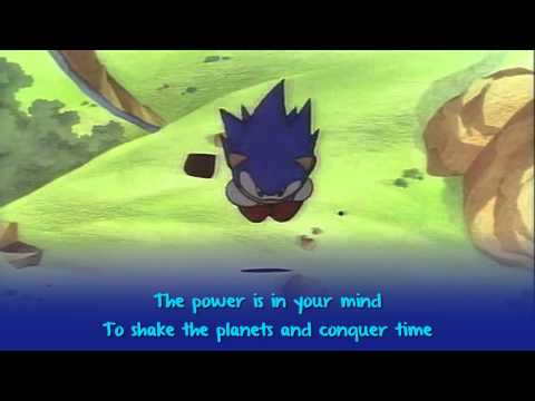 Sonic CD - You Can Do Anything [LYRICS ON SCREEN]