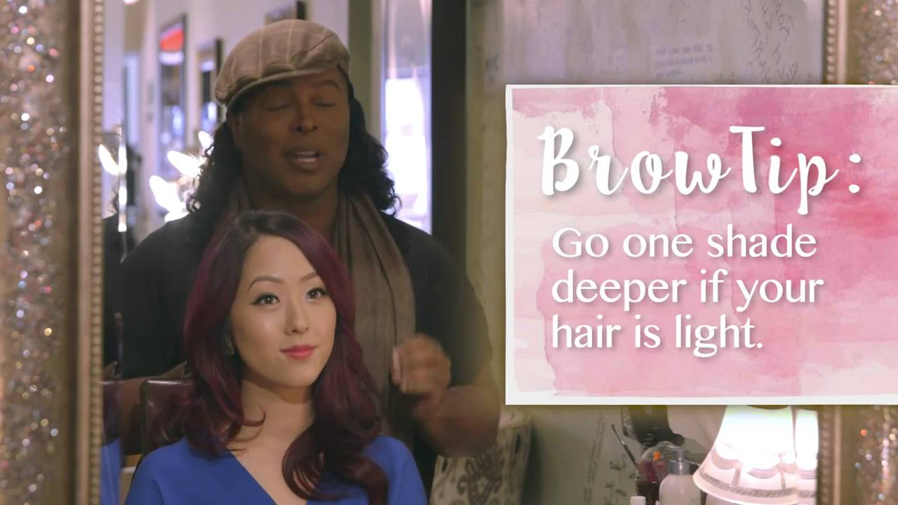 Damone Roberts And Raeview How To Get The Perfect Brow Youtube