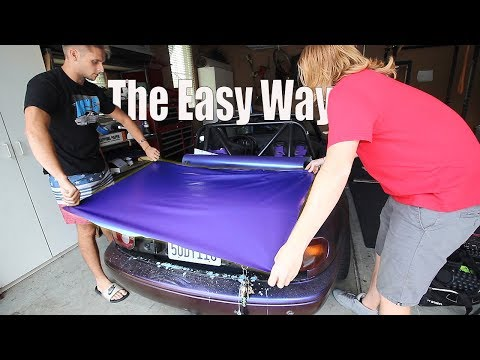 The EASY WAY to Vinyl Wrap a Car