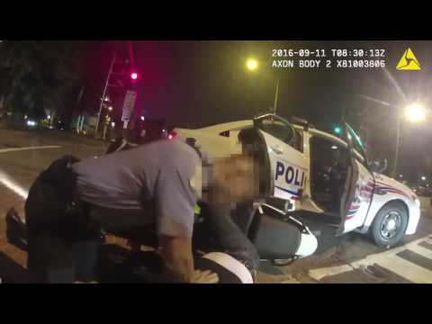 Washington DC  major orderd police release body camera footage