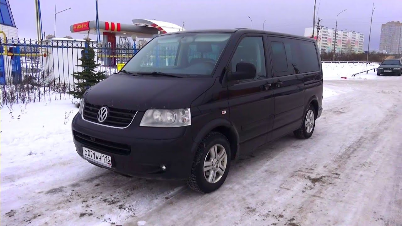 2008 volkswagen multivan t5 highline 2 5 tdi start up. Black Bedroom Furniture Sets. Home Design Ideas