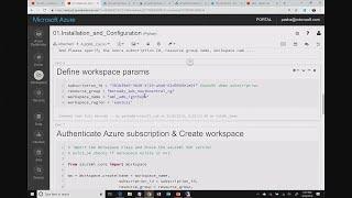 AI TechTalk: Azure Machine Learning SDK - a walkthrough - THR3098